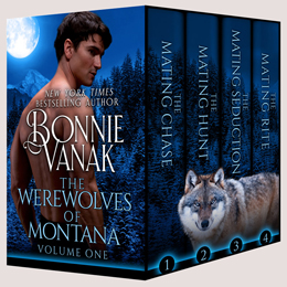 bonnie vanak's werewolves of montana vol 1